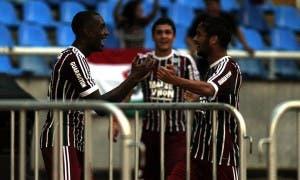 Gerson fez o gol da vitória e Gustavo Scarpa foi o melhor em campo (Foto: Nelson Perez - FFC)