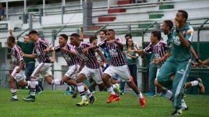 Fluminense vive grande momento na base (Foto: Bruno Haddad - FFC)