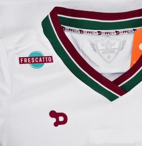 ab7b388da0 Branco é paz e harmonia! Adquira a camisa oficial número 2 do Fluzão ...
