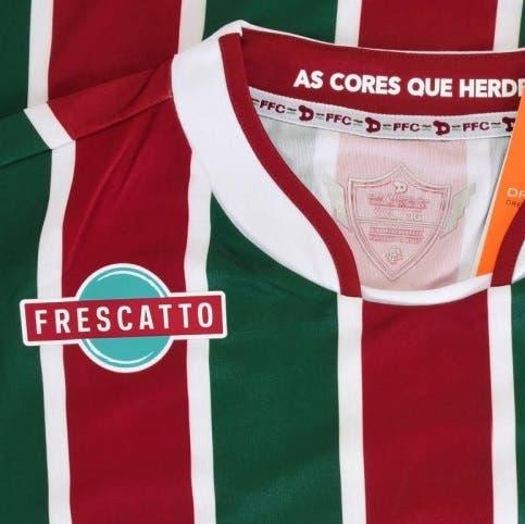 2748d84d08 A Loja NETFLU apresenta a camisa oficial do Fluminense número 1