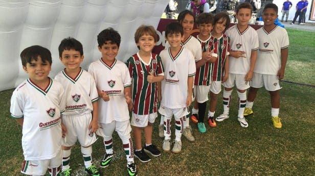 f9930f2451 Profissionais do Fluminense visitam unidades do Guerreirinhos no ...