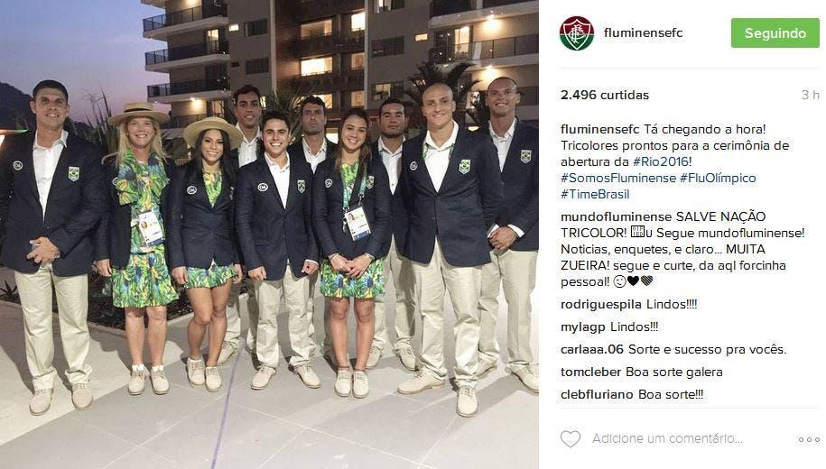 delegaçao flu olimpiadas