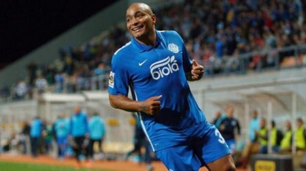Lateral-esquerdo Anderson Pico, ex-Fla e Grêmio, atua no Dnipro, da Ucrânia