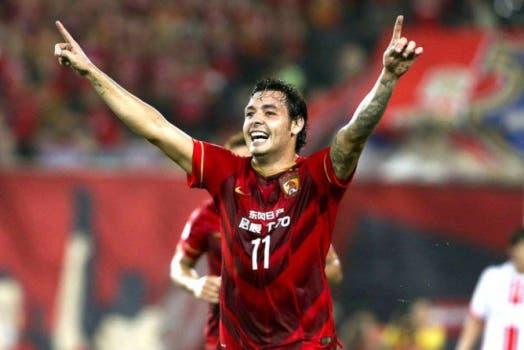 Ricardo Goulart, ex-Cruzeiro, está no Guangzhou Evergrande, da China