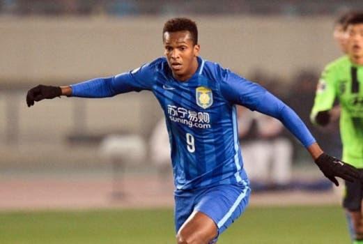 Centroavante Jô, ex-Atlético-MG, é do Jiangsu Suning, da China