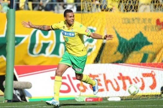 Centroavante Élton, ex-Vasco, atua no  JEF United, do Japão