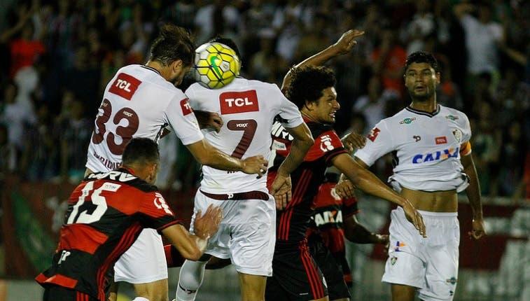 Advogado do Flamengo diz que Fluminense não consegue provas suficientes  para anular a partida (Foto  Nelson Perez FFC) 8c9d05fe3f820