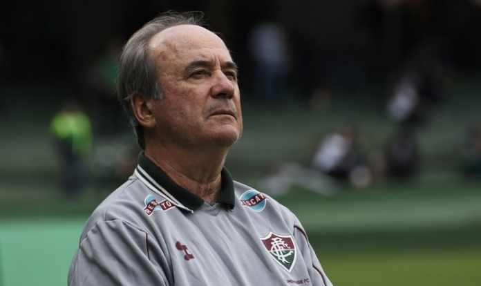 e575d4002381a Levir Culpi não é mais treinador do Fluminense. O técnico não resistiu ao  sexto jogo sem vitória. Neste domingo
