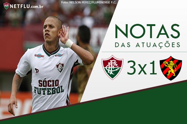 Atuações NETFLU – Fluminense 3 x 1 Sport Recife  2bcb3925398c6
