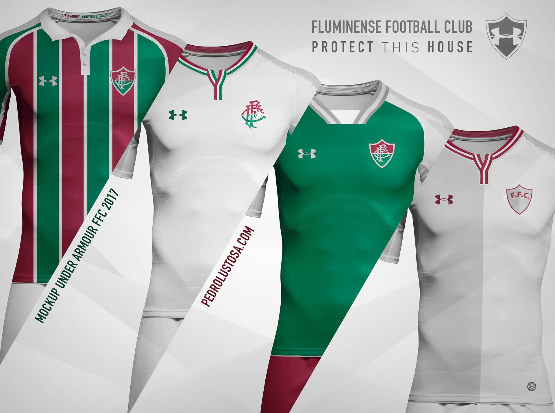55ebee9cfce46 Designer tricolor faz mockups de uniformes do Fluminense para a ...