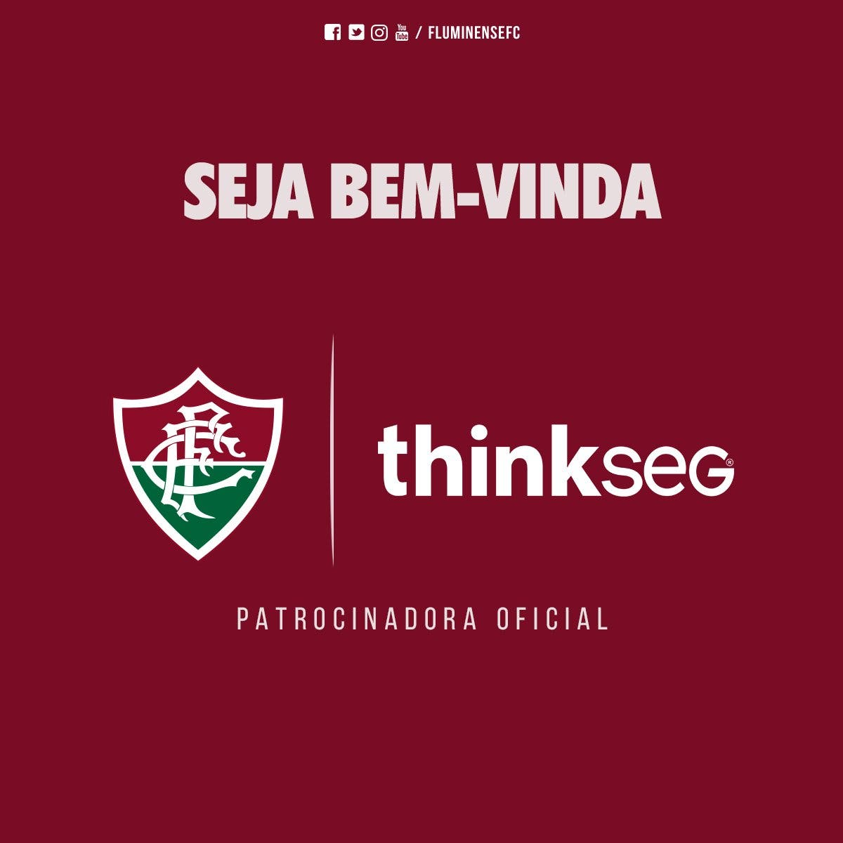 Fluminense anuncia oficialmente novo patrocinador  aa33523727aed