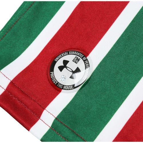 bb868777a1 Vazaram imagens da nova camisa tricolor do Fluminense