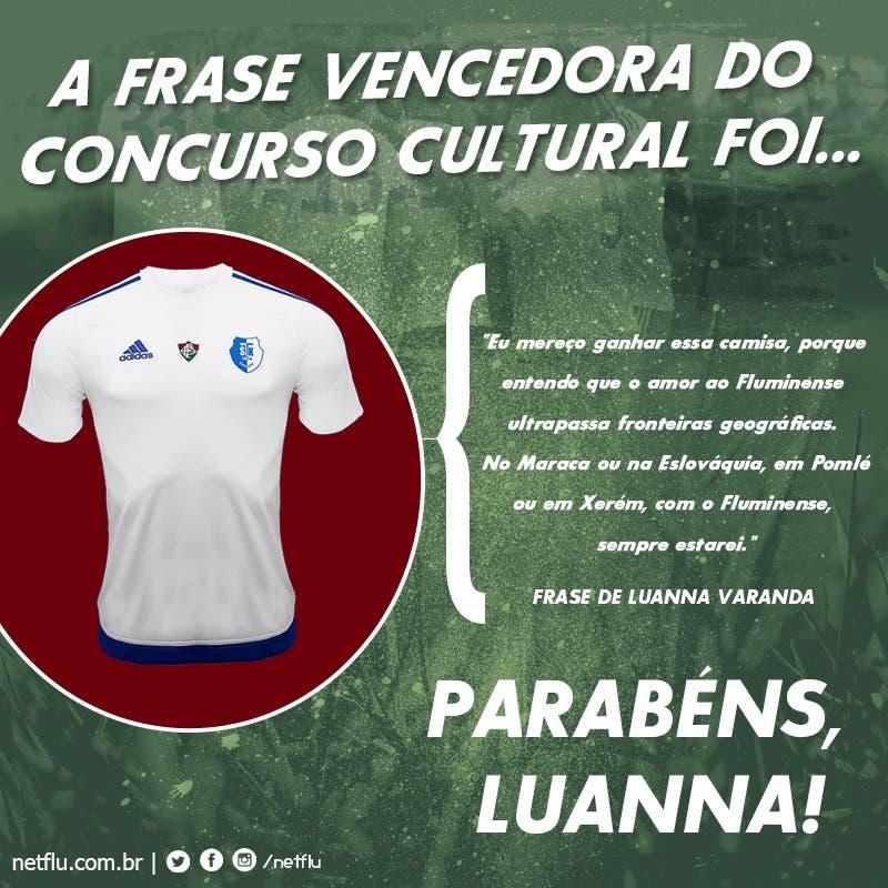 Confira O Vencedor Da Camisa Do Stk Fluminense Samorin Netflu