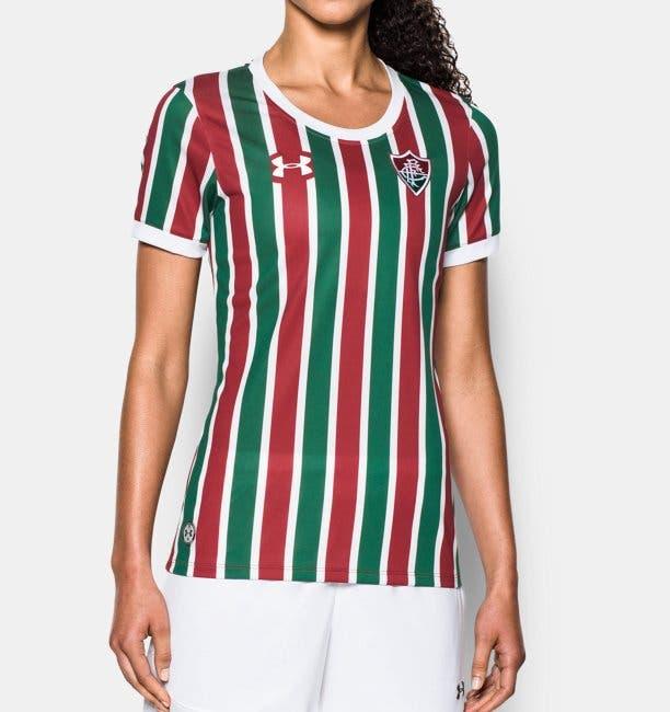6b0b00be85 Na Loja NETFLU  Camisa feminina oficial do Fluzão Under Armour