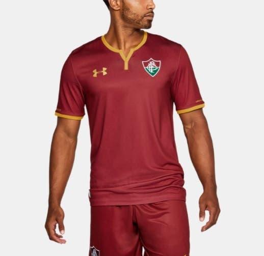 7d2c293e5eb42 Na Loja NETFLU  A camisa grená do Fluminense. Adquira a sua!