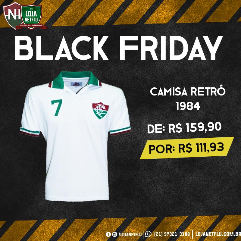 ceaadfc06c7b3 Último dia de Black Friday estendida na Loja NETFLU  Camisas retrô ...