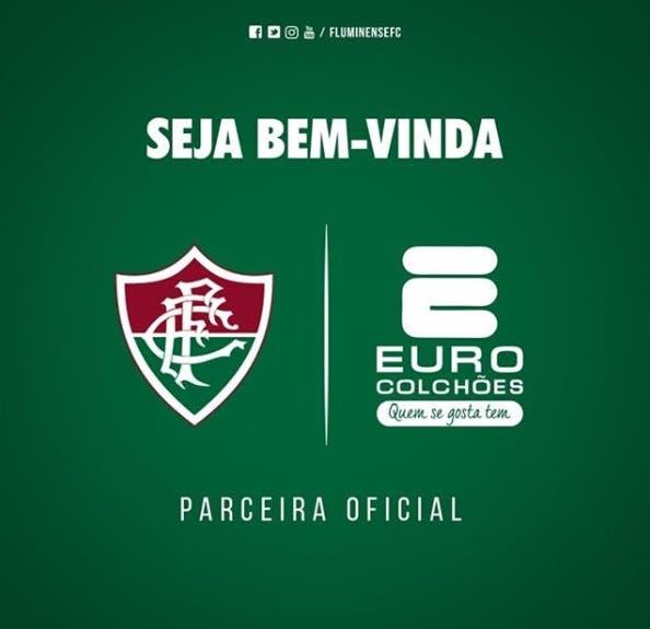 O Fluminense não para de anunciar novos patrocinadores. Depois da  Universidad Mackenzie 724134ae907fa
