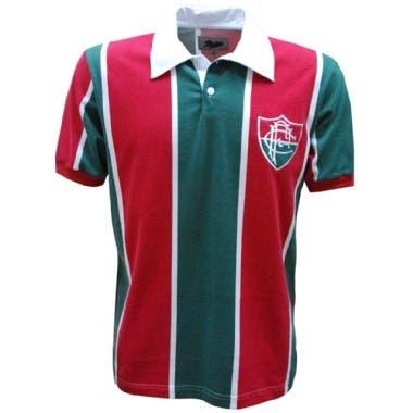 c82a4ba5d23a6 A réplica da camisa do Fluminense utilizada em 1913 está disponível no  Empório dos Guerreiros. Garante já a sua agora clicando aqui!