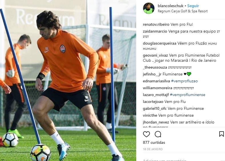 Фанаты атакуют форварда Шахтера с просьбами перейти в клуб из Бразилии