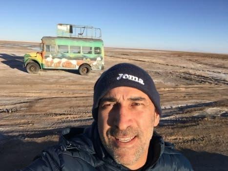 Ex-técnico do Flu viajou pelo deserto para chegar a Potosí 6a275b2d71cbc
