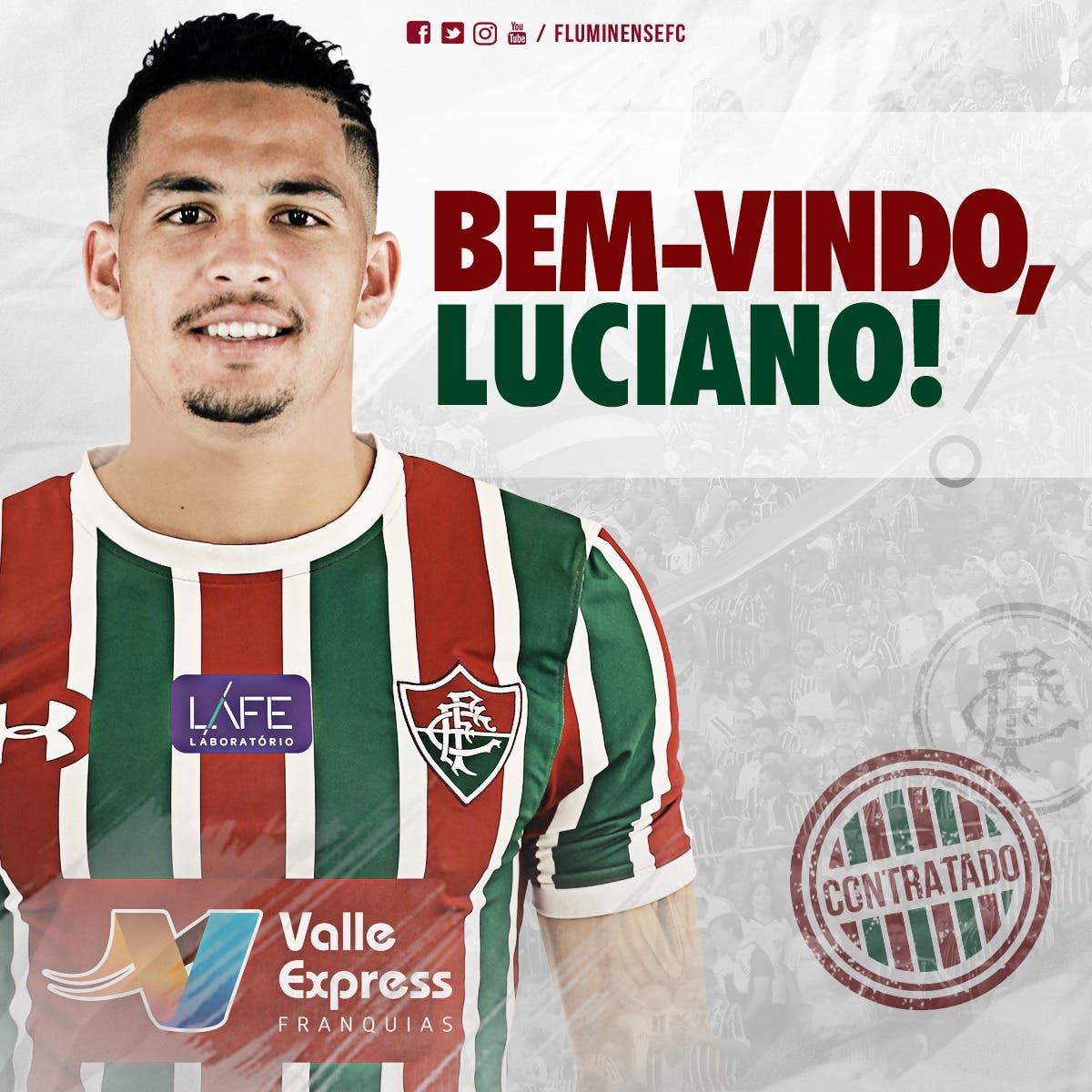 Fluminense Anuncia Contratacao De Luciano Netflu