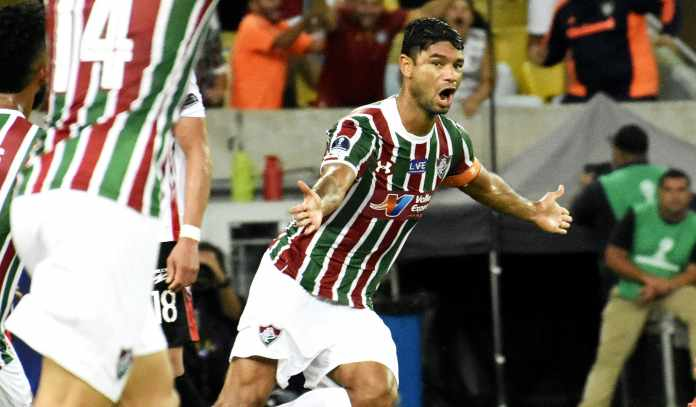 0127fad5d0 (Foto  Mailson Santana FFC). O Fluminense enfrenta o Defensor (URU)