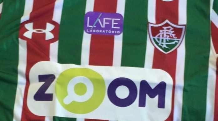 """b1c61b9ba0 O Fluminense anunciou nesta quinta-feira o acerto de patrocínio com a  """"Zoom"""""""