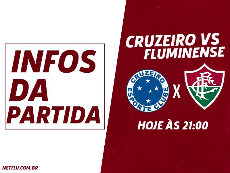 10f8b2278e Cruzeiro x Fluminense  Prováveis escalações