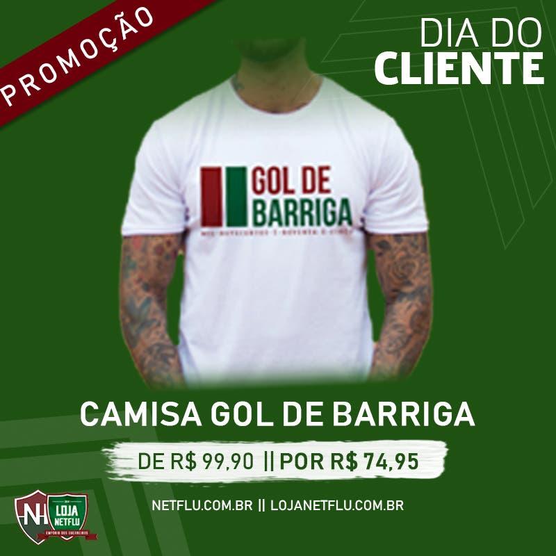 7793233be0382 Três camisas retrô oficiais do Fluminense e a comemorativa do Gol de  Barriga à disposição no Empório dos Guerreiros com promoções especiais.