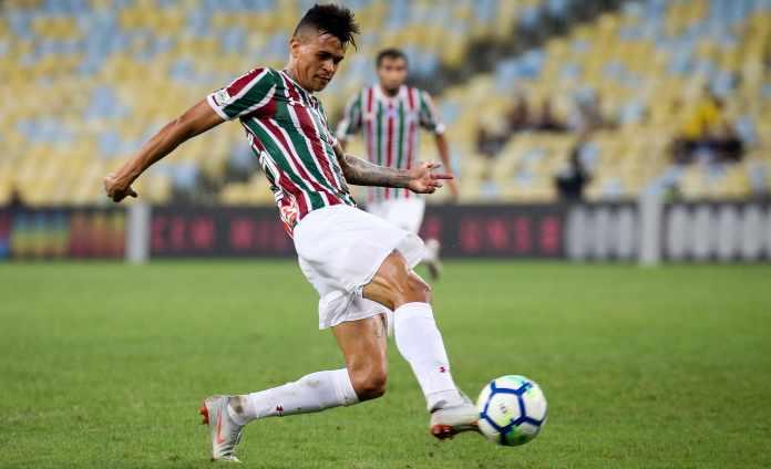 (Foto  Lucas Merçon FFC). Fluminense ... 0e4d0b86a744b