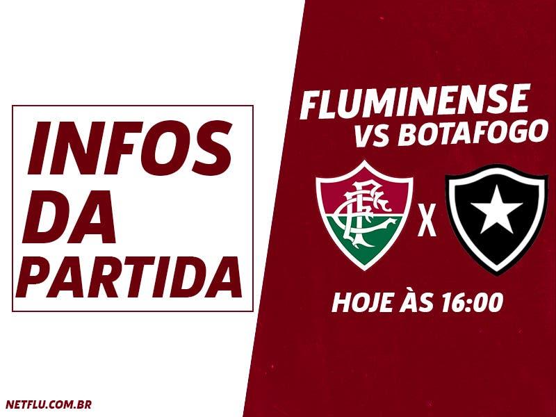 Fluminense x Botafogo  Prováveis escalações a9534bedfc5fd