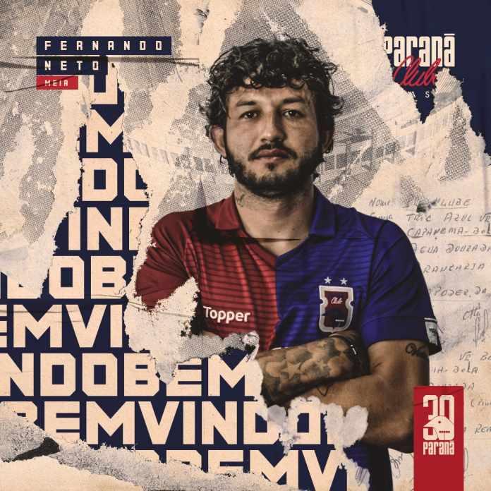 O jogador pertence ao Fluminense e desembarca em Curitiba por empréstimo de  uma temporada. Confira o anúncio que ... 0439b0be0ca9b