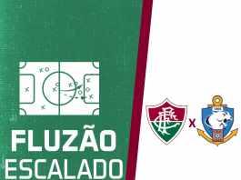 223bbb11fa Fluzão escalado para a estreia na Copa Sul-Americana
